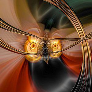 Phantasievolle abstrakte Twirl-Illustration 109/9