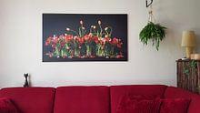 Photo de nos clients: Tulipes des Pays-Bas sur Dirk Verwoerd, sur toile