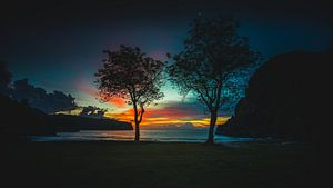 Sumbawa zonsondergang