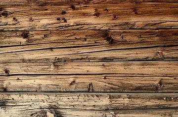 Vieille planche de bois patinée sur iPics Photography