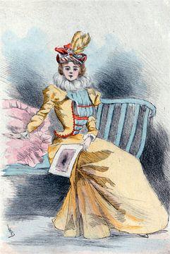 Mode 1890, Mode in het negentiende-eeuwse Parijs, Henri Boutet, (1851 1919)
