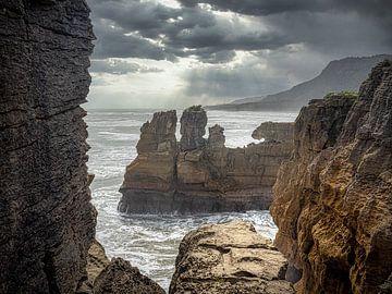 Nieuw-Zeeland - Pancake Rocks - De ruige westkust van het Zuidereiland
