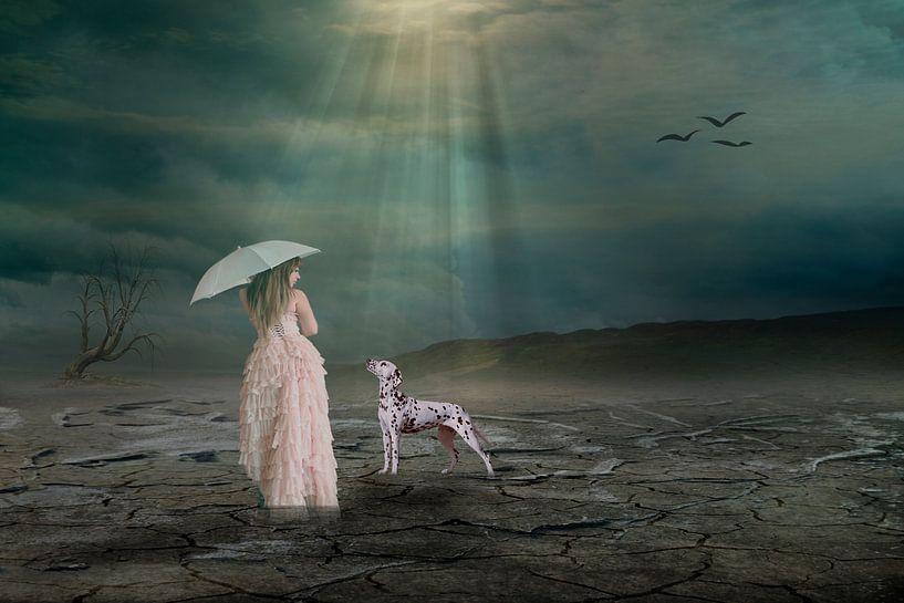 Zwei Freunde in der Einsamkeit van Ursula Di Chito