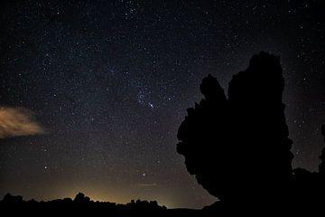 Teide Nationaal Park bij nacht van Angelika Stern