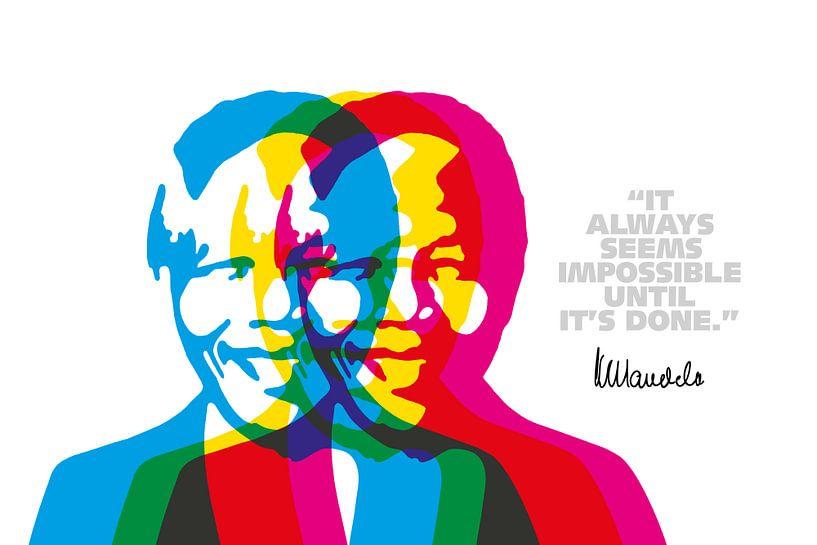 Nelson Mandela Zitat von Harry Hadders