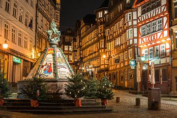 Kerstmarkt in Marburg van Jürgen Schmittdiel Photography