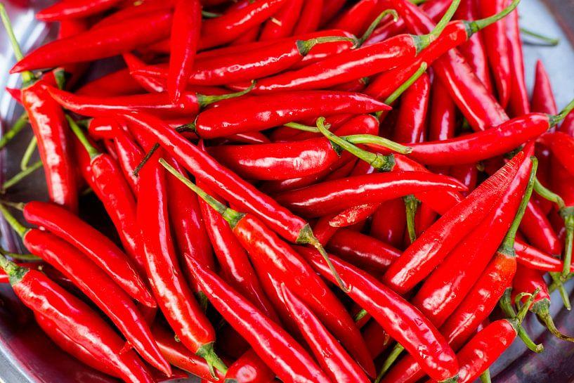 Rode pepers van Gijs de Kruijf