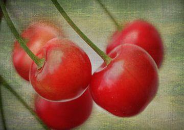 Rote Kirschen3 van Rosi Lorz