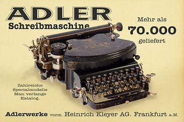 Schreibmaschine Adler Mod. 7 sur Ingo Rasch