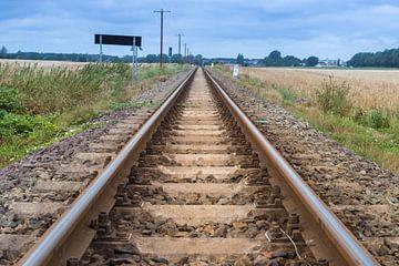 Eisenbahnschienen von Gottfried Carls