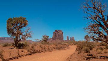 amerikanische Wüste im monument valley national park von