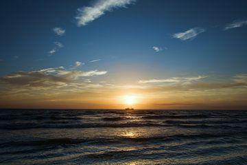 zonsondergang van Marco Nedermeijer