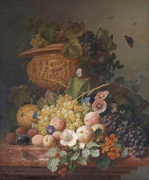 Stillleben mit Blumen und Früchten, Eelke Jelles Eelkem