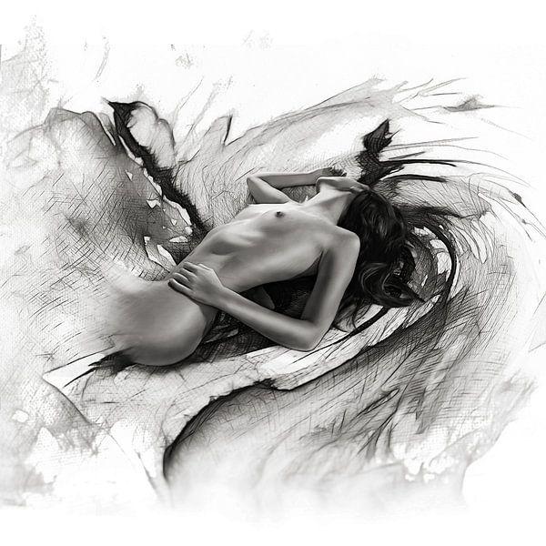 Passion 03 monochrome van Silvio Schoisswohl