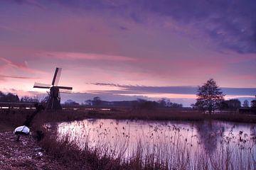 Nieder-Keppel, Winternacht von Afke van den Hazel