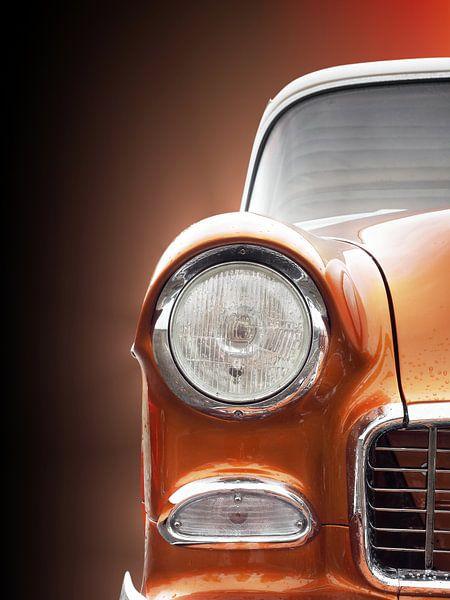 Voiture classique américaine 1955 Bel Air sur Beate Gube