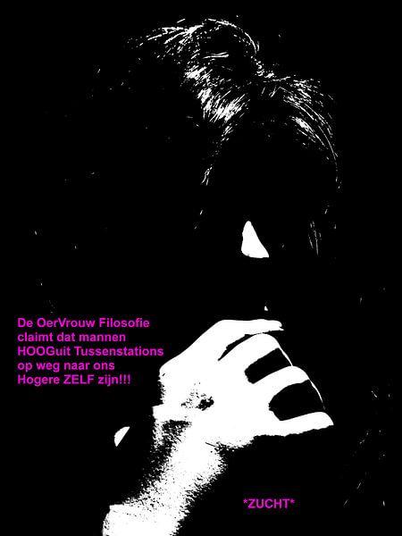 Dolende Dertigers: Mannen Zijn Tussenstations! van MoArt (Maurice Heuts)