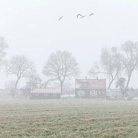 Winterlandschap van Frank Peters