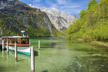 Bootsanleger am Königssee von Sabine Wagner