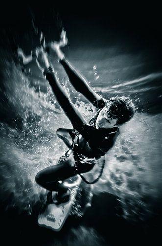 Kitesurfing - actiefoto
