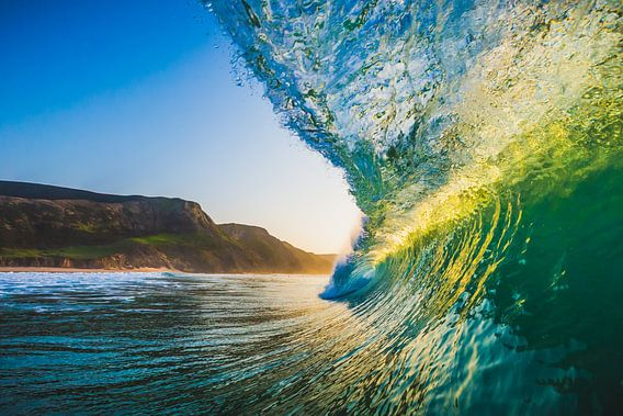 Portugese golven van Andy Troy