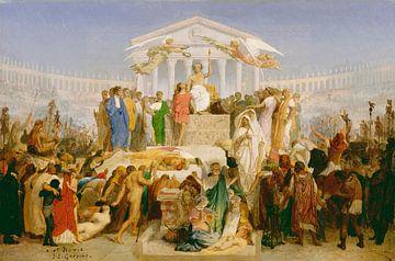 L'âge d'Auguste, la naissance du Christ, Jean-Léon Gérôme