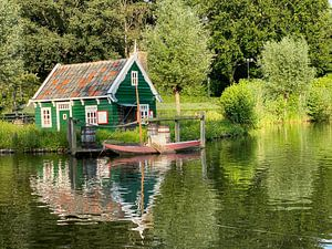 Ferienhaus mit Boot von matthijs iseger