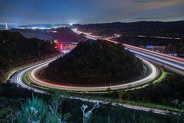 Autobahnkreuz A4, A45 von Robin Feldmann