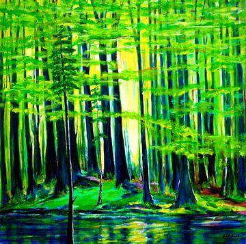 Waldinsel von