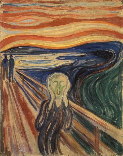 De Schreeuw van Edvard Munch van Rebel Ontwerp
