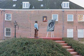 Der Rembrandtplein in Leiden von Charlene van Koesveld