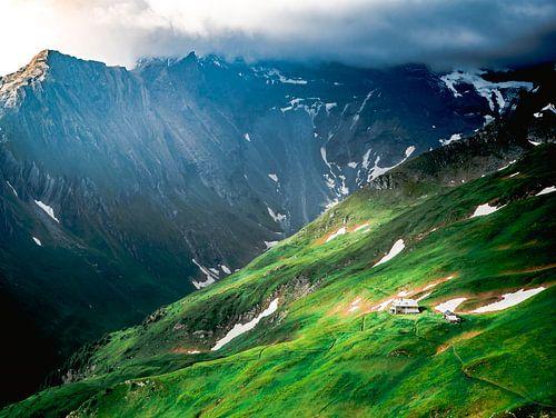 Maison dans les montagnes