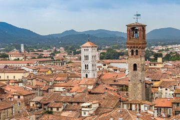 Türme von Lucca, Toskana von Easycopters
