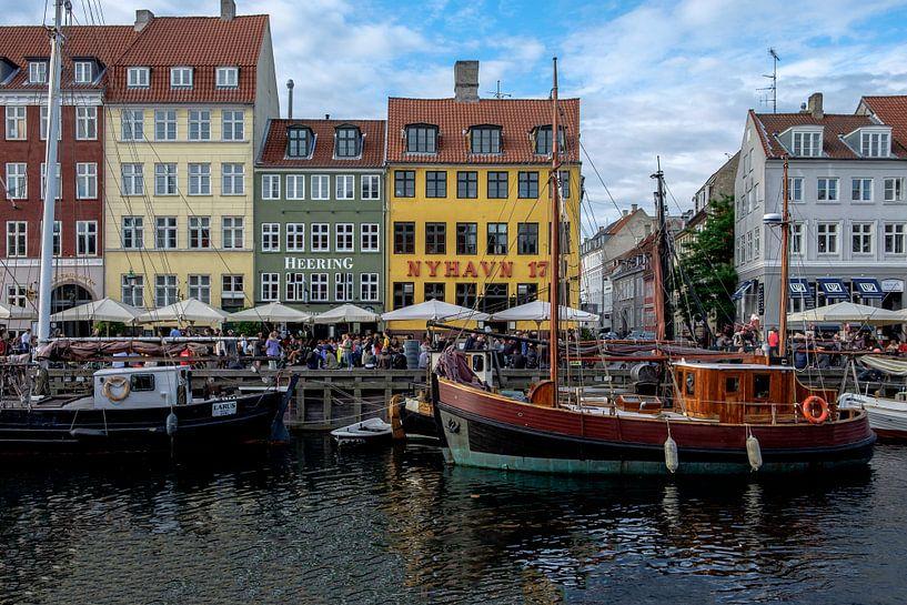 København | Nyhavn van Laura Maessen