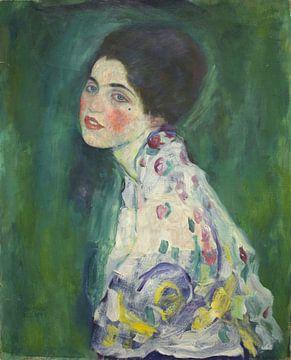Bildnis einer Dame, Gustav Klimt