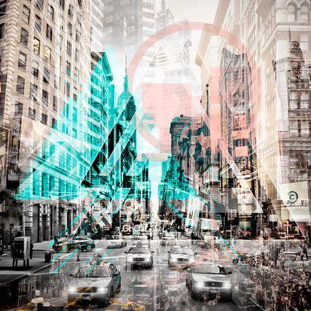 New York City | Geometric Mix No. 3