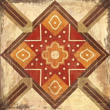 Marokkaanse tegels Spice IX, Cleonique Hilsaca van Wild Apple