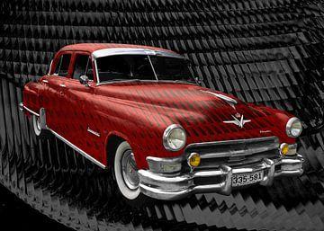 Chrysler Imperial Serie C54 in rood van aRi F. Huber