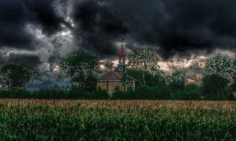 Rotonde kerkje Terband van Claudia De Vries