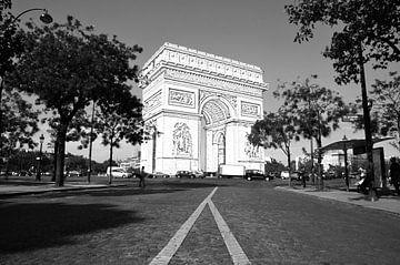 Arc De Triomphe - Parijs - Frankrijk (Semi-Schets) van Maurits Simons