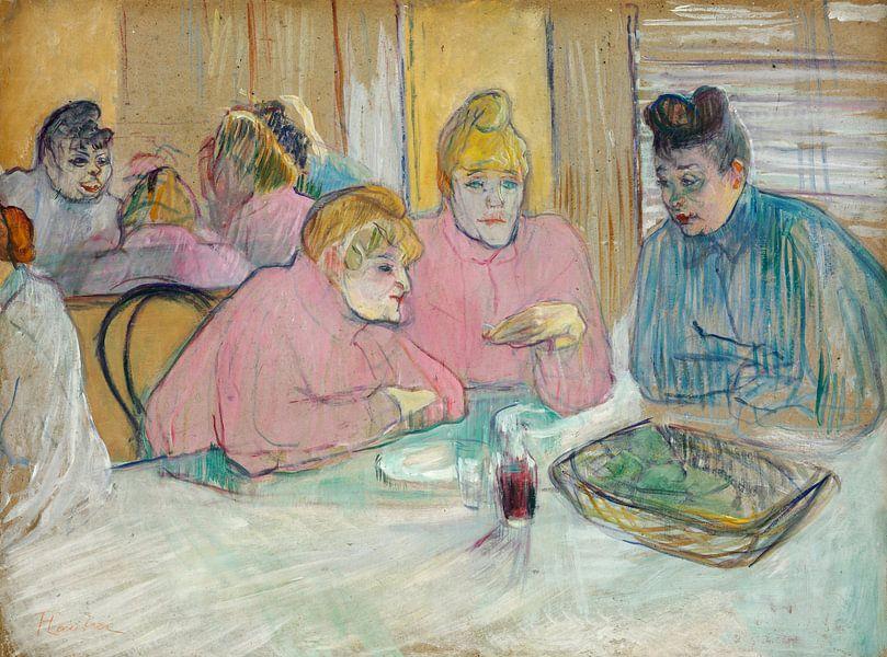 Die Damen im Speisesaal, Henri de Toulouse-Lautrec - 1893 von Het Archief