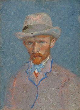 Selbstbildnis mit grauem Filzhut, Vincent van Gogh