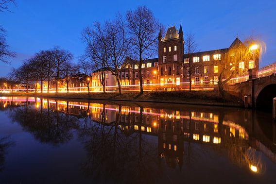 Maliesingel met Hiëronymushuis in Utrecht