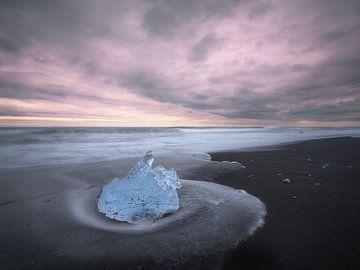 Winters strand van Roelof Nijholt