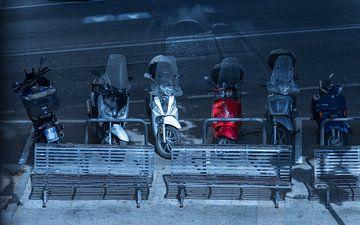 scooters van Rene Siebring