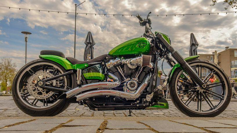 Harley-Davidson van Freddie de Roeck