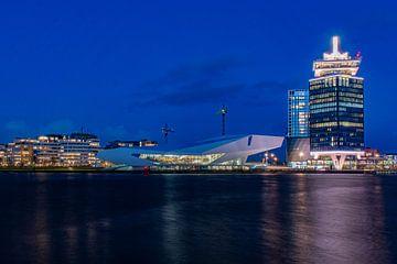 Augenfilmmuseum und A'DAM-Turm, Amsterdam von Aldo Sanso