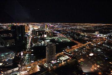 Las Vegas Verenigde Staten in het donker van Ingeborg van Bruggen