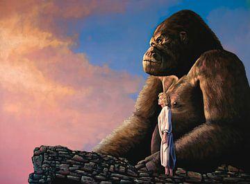 King Kong Gemälde von Paul Meijering
