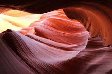 Antelope Canyon Page Verenigde Staten von Martin van den Berg Mandy Steehouwer